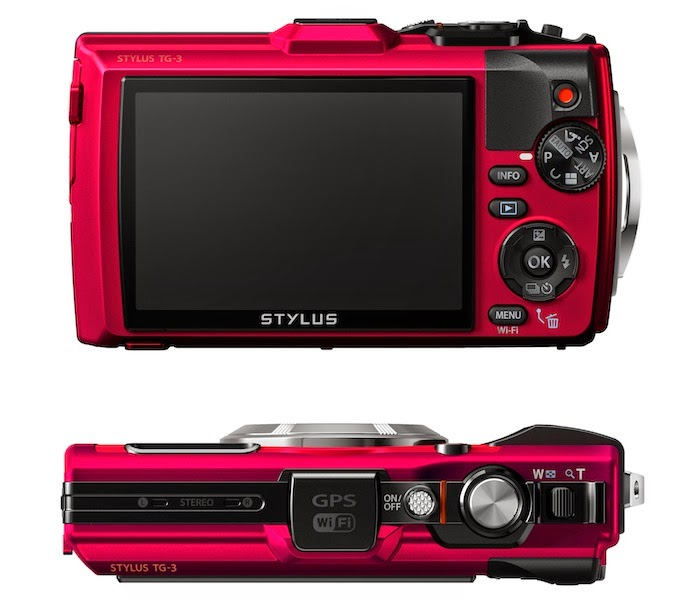 Olympus Stylus Tough TG-3, antidust camera, water-resistant camera, creative modes, microscope mode, tough camera, camera for adventure, outdoor camera, Wi-Fi, GPS, e-compas, zoom lens
