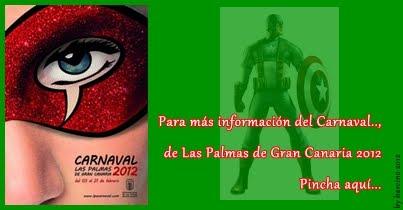 Cartel del Carnaval de LPGC 2012