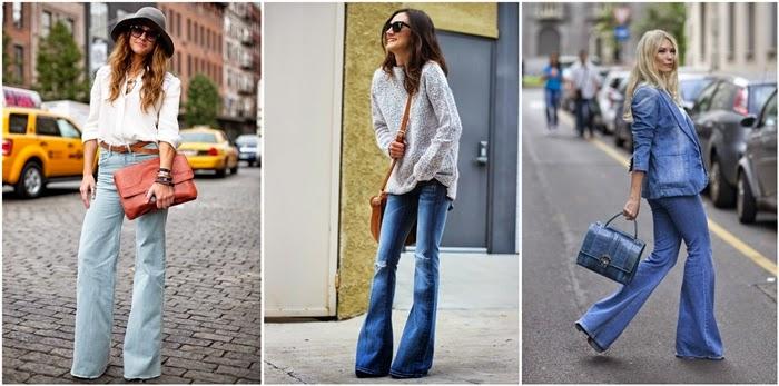 come abbinare i jeans a zampa