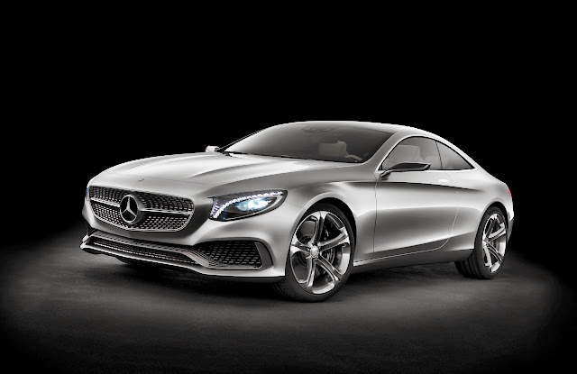 Mercedes-Benz Concept S-Class Coupe: Half the Doors, Twice the Swagger [Video]