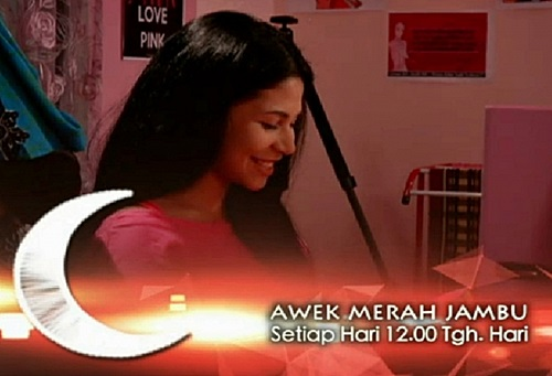 Sinopsis drama Awek Merah Jambu TVi, pelakon dan gambar drama Awek Merah Jambu TVi