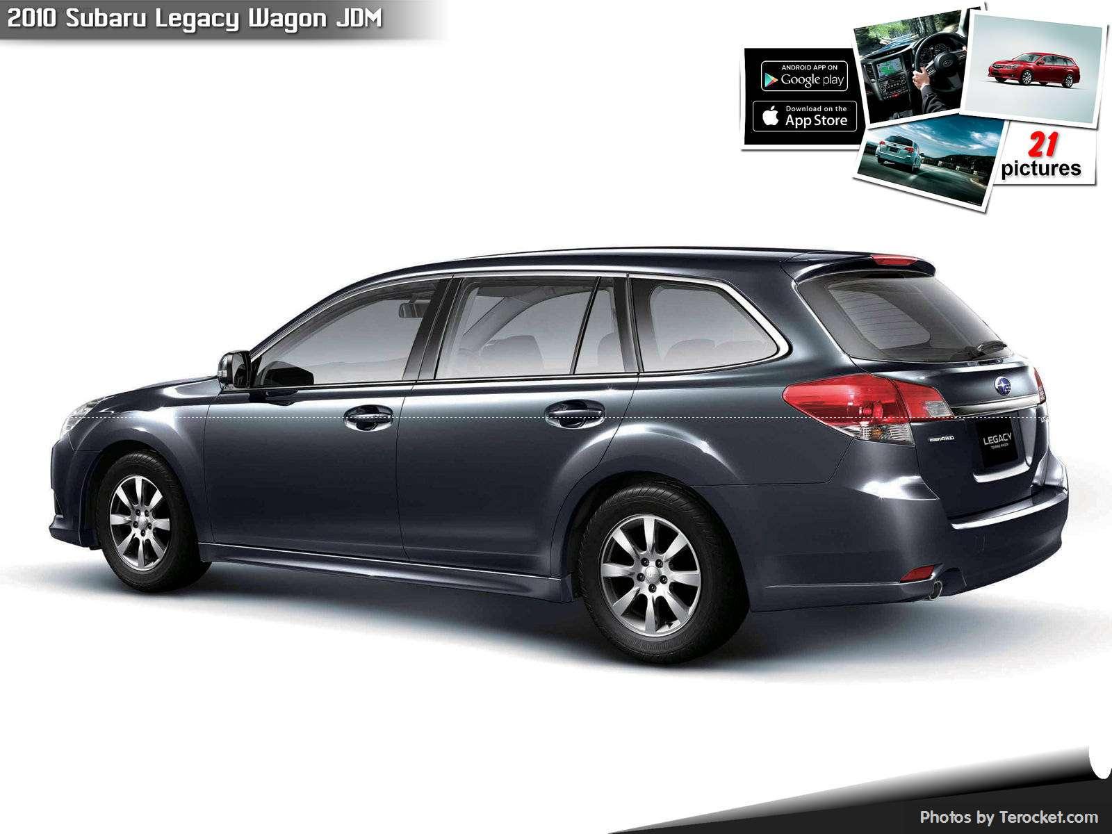 Hình ảnh xe ô tô Subaru Legacy Wagon JDM 2010 & nội ngoại thất