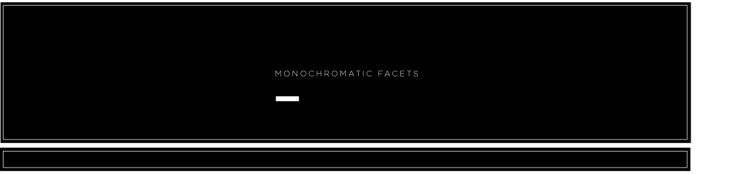Monochromatic Facets