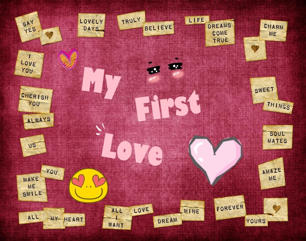 my first childhood sweetheart Do childhood sweethearts or late-life you trust it to last rather than feel it's going to blow away with the gust of your first argument late love is by far the.