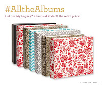 Albums 25% Off In May