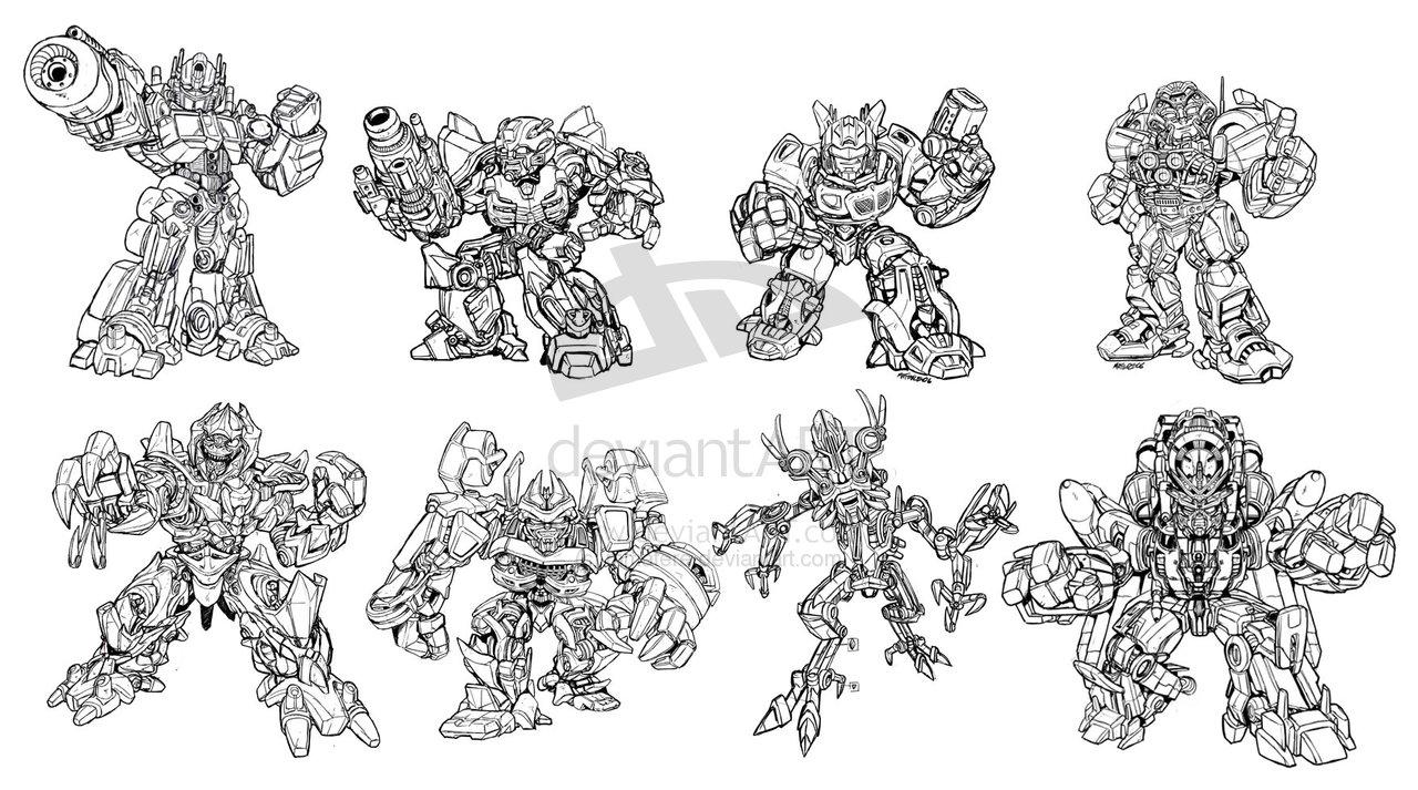 Imagenes De Transformers Robots In Disguise Para Colorear picture ...