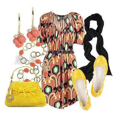 yellow fashion 04