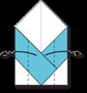 Cara Membuat Origami Wajah Pingiun