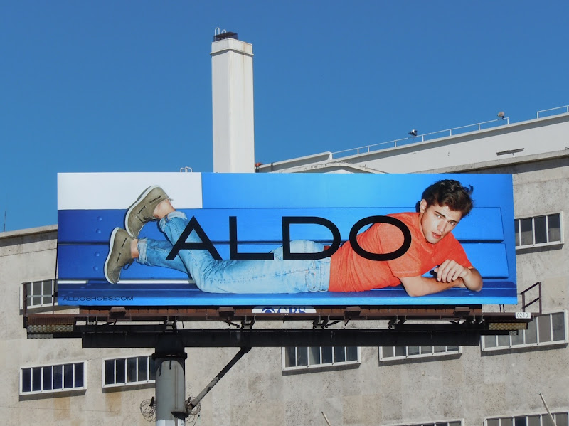 Aldo Shoes Spring 2011 billboard