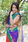 Santoshi sharma half saree pics-thumbnail-12