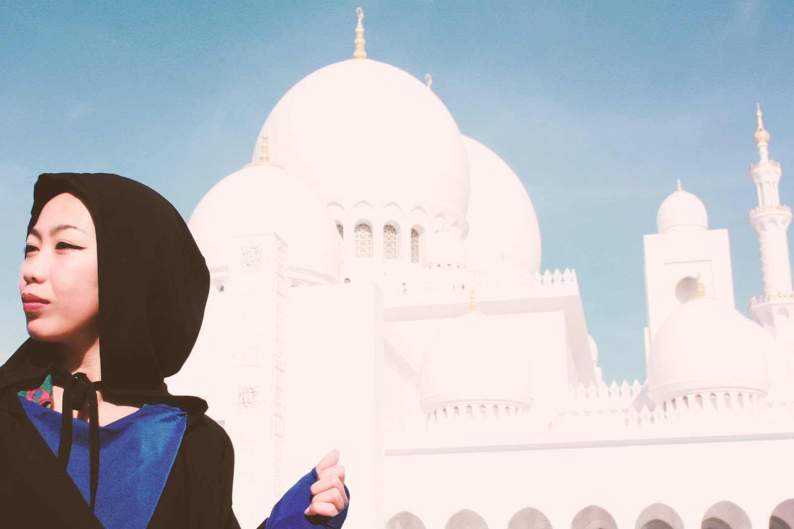 Abu Dhabi Grand Mosque Tourist Destination