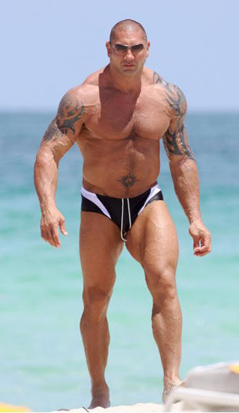 wwe tattoos. WWE Superstar Dave Batista