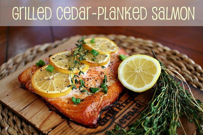 Rattlebridge Farm: Foodie Friday -- Grilled Cedar-Planked Salmon