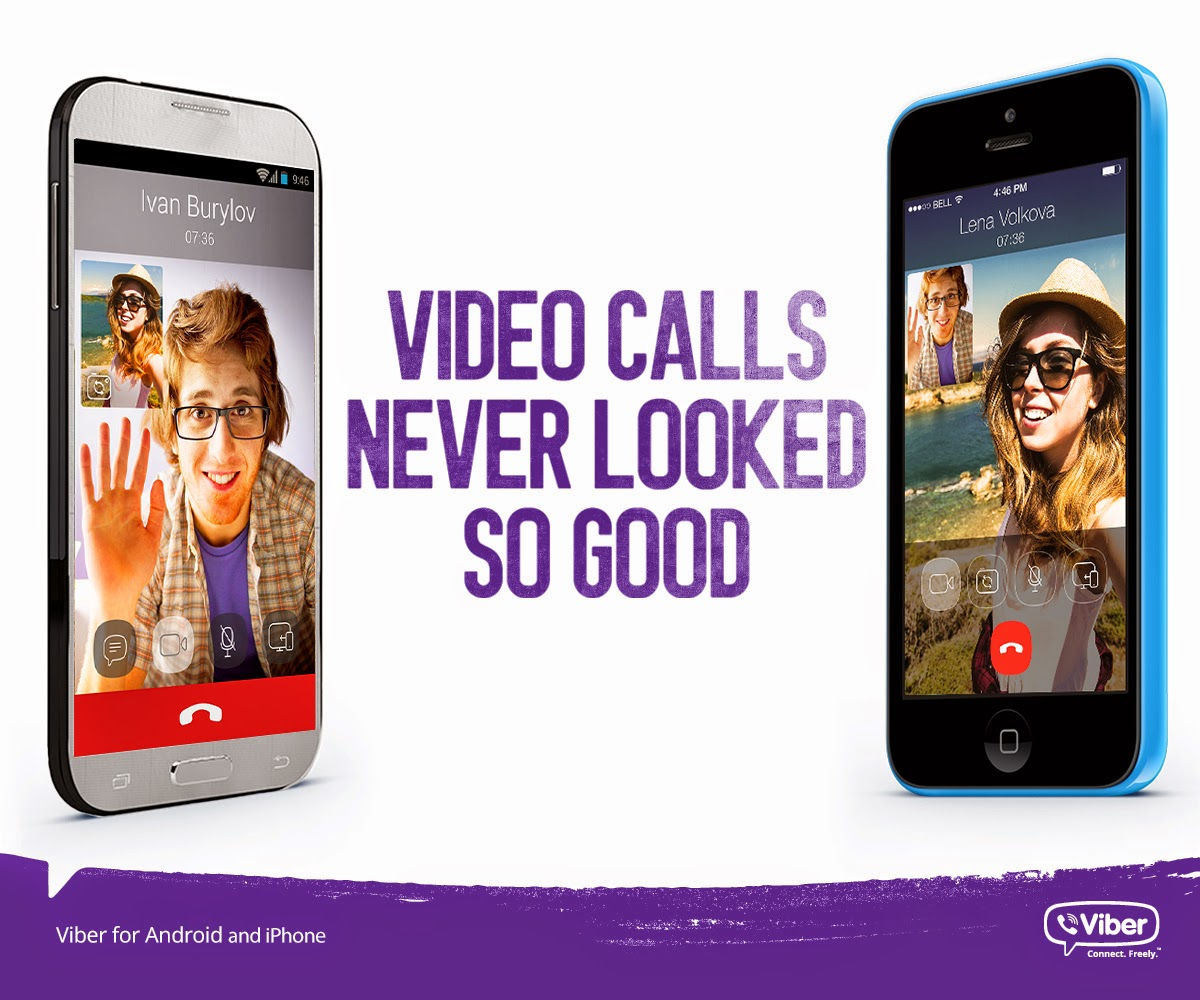 Videocalling on viber now available