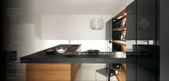 Como decorar mi casa dise o moderno minimalista de - Cocinas italianas diseno ...