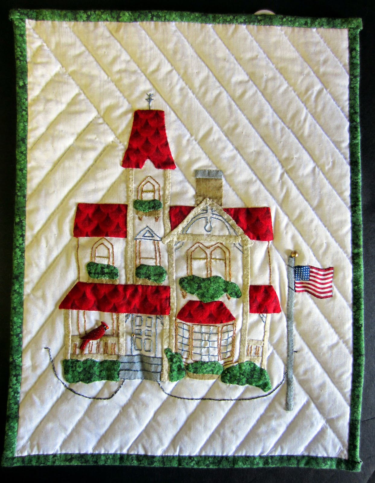 The House Quilt Project: Home Sweet Home Houses by the Calico ... : quilts n calicoes - Adamdwight.com
