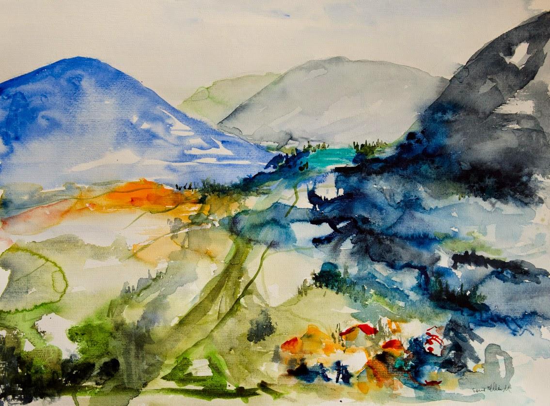 Watercolor 50 x 65 cm