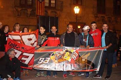 Fans Marquez Demo Padati Kota Cervera, Ada Apa?