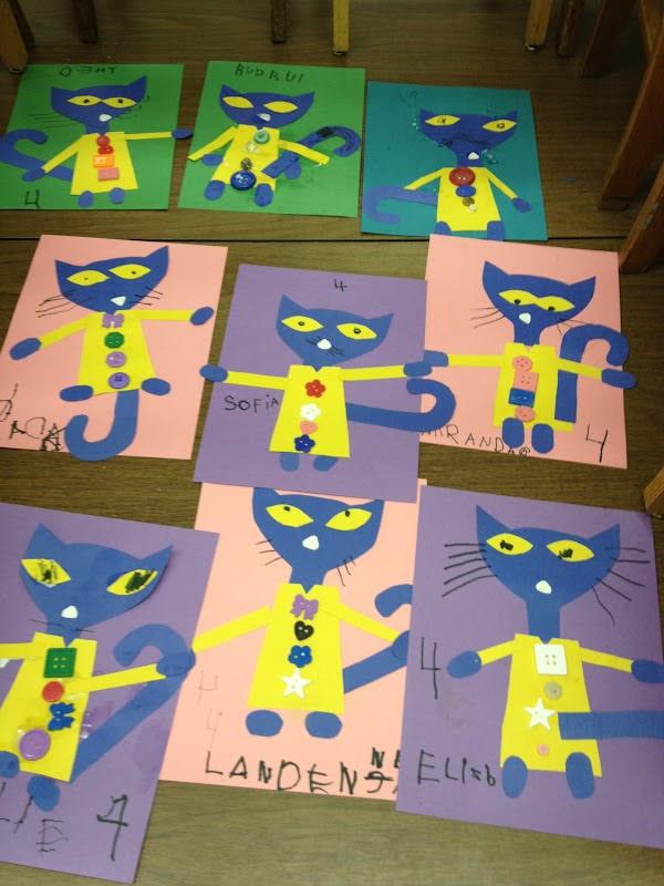 mrs goff 39 s pre k tales we love pete the cat