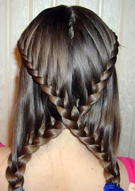 Косы на длинные волосы для девочек своими руками пошагово