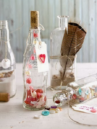 Ideas para Reciclar Botellas por San Valentin