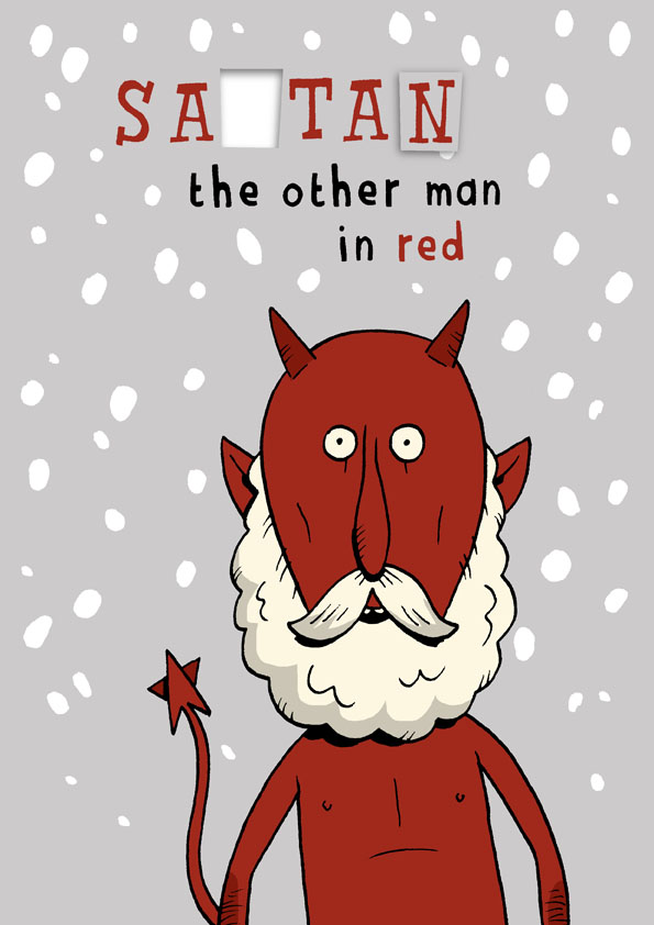 GarrettLife: Satan Christmas Card!