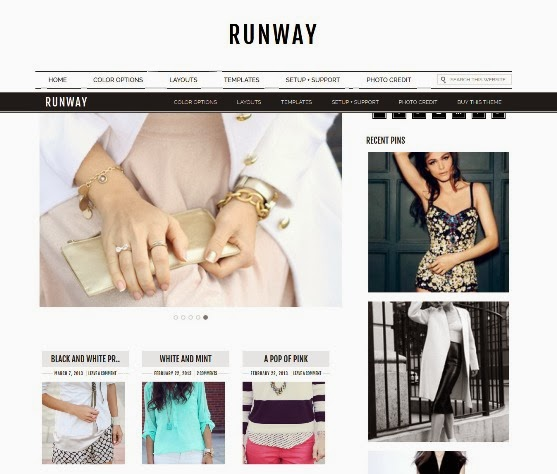 Runway Responsive WordPress Theme