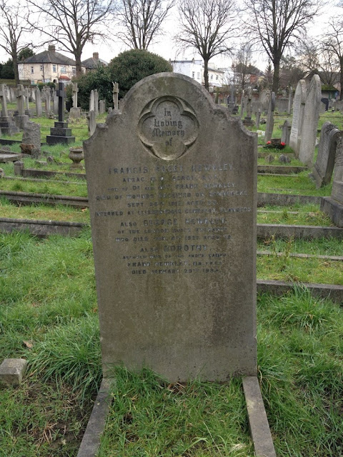 Frances Paget Hewkley Family Grave