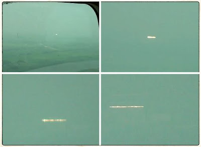 UFO Captured On Video By Passenger on Small Plane - CHIBA, JAPAN  July 2013