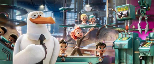 Teaser tráiler oficial de la película de animación 'Cigüeñas'