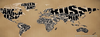Couverture Facebook carte de monde