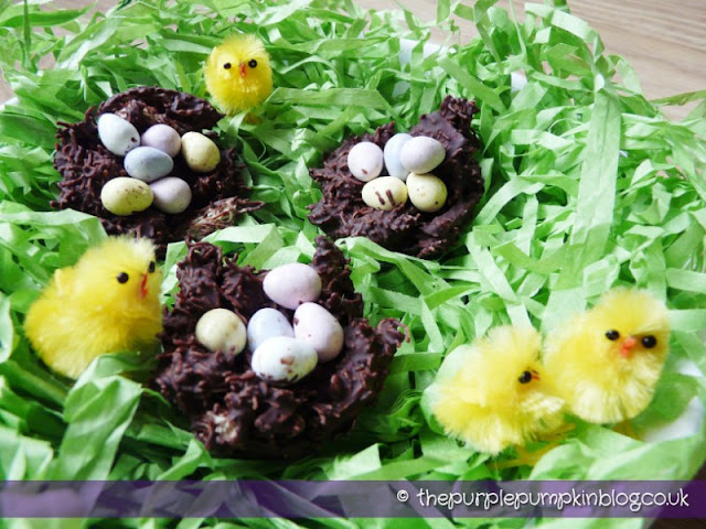 Chocolate Easter Bird's Nests