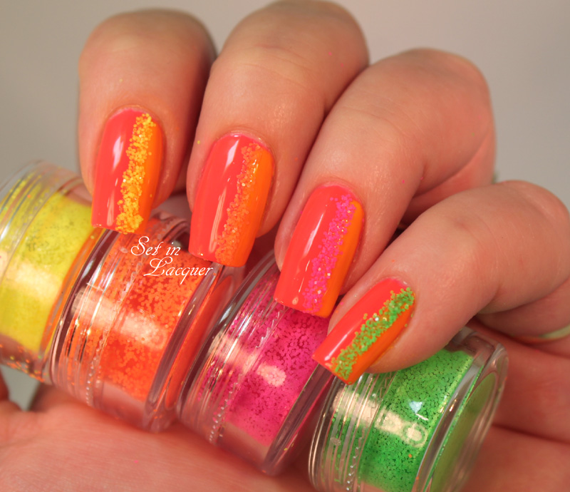 Salon Perfect Neon Pop duo and Neon Collision Nail Art Kit