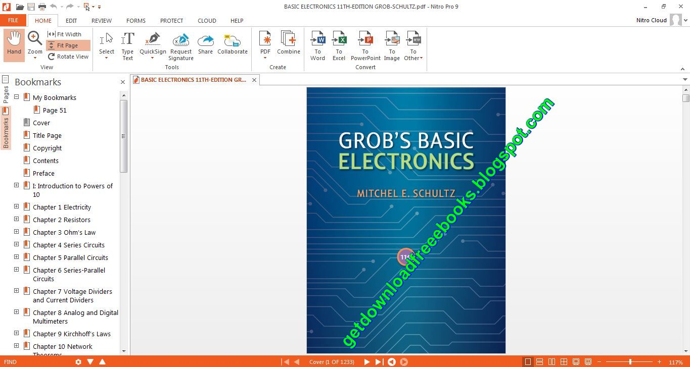 Free Basic Electronics Books Download