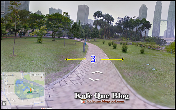 Cara menggunakan google street view malaysia lihat pemandangan 360