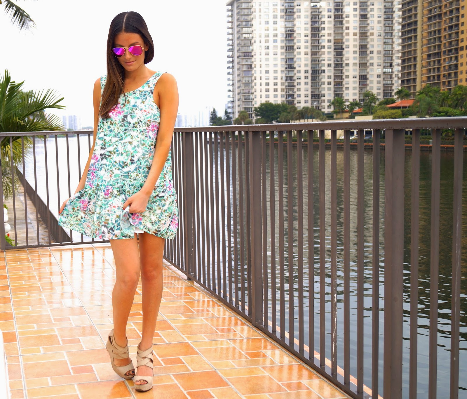 barbados babydoll dress