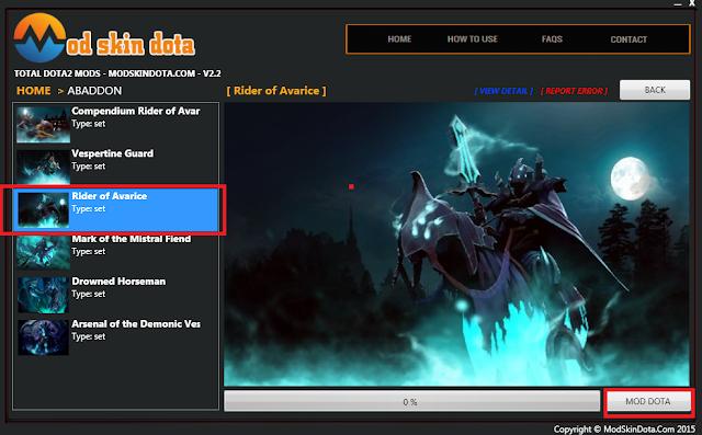 Abaddon Rider of avarice