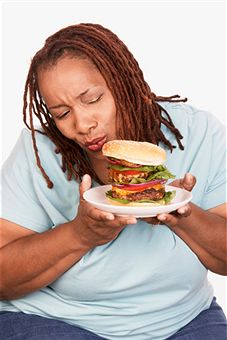 Eating fast food while pregnant