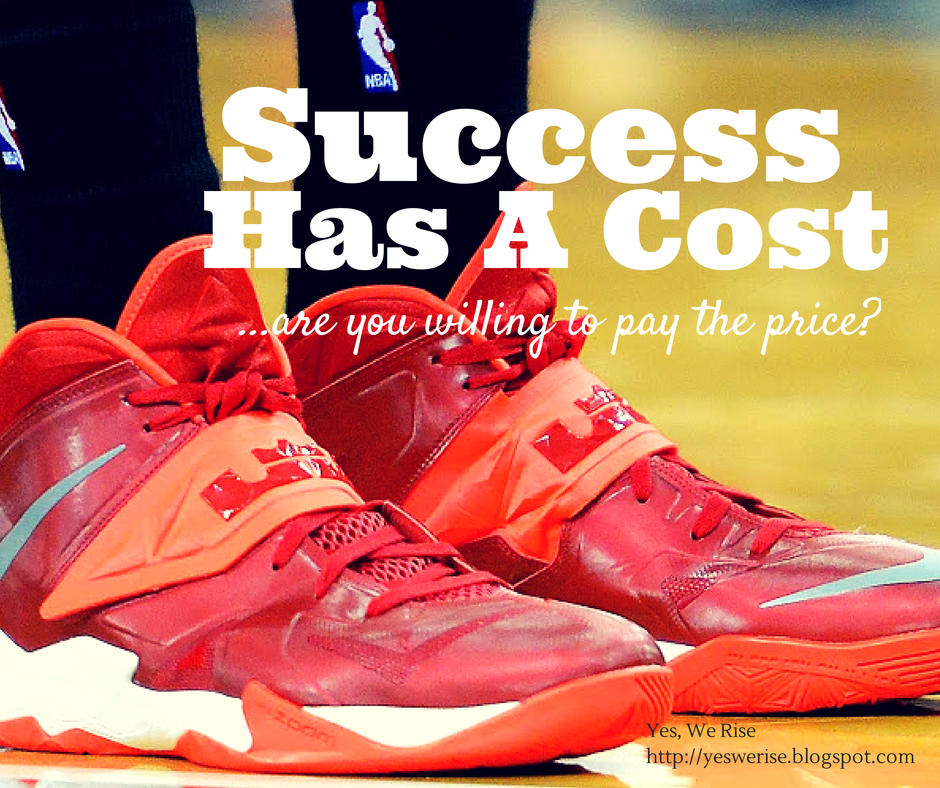 Yes, We Rise|  Wearing LeBrons:  The Cost of Success
