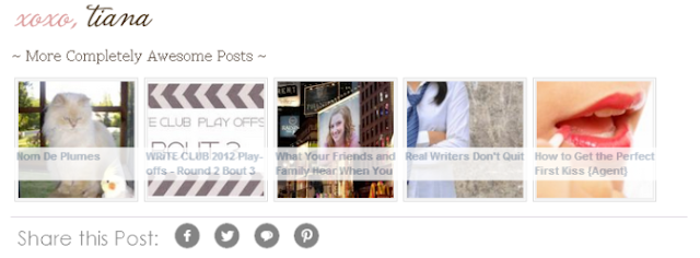 Fig. Share Button On Blogger Posts