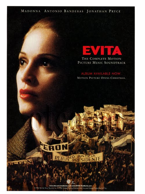 an analysis of the film evita by alan parker Evita is another film that was directed by alan parker unlike the commitments evita is more of a true musical and not just a film about a band evita followed the life of eva duarte who is played by madonna che who is played by antonio banderas is the narrator of the musical, and recants the story of how eva was able to rise from the lower.