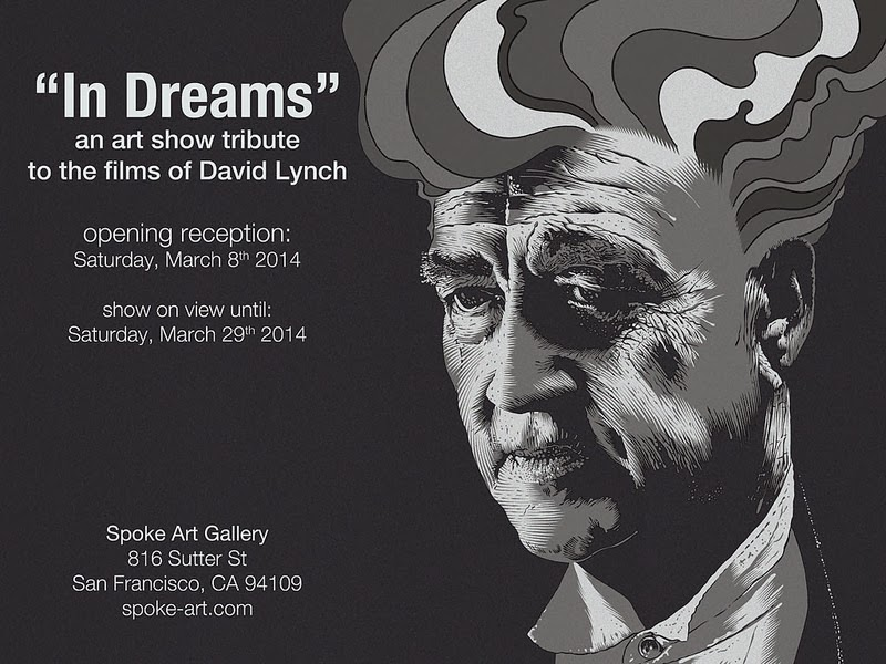 In Dreams An Art Show Tribute to David Lynch at Spoke Art Gallery