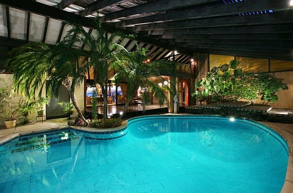 Swimming pool designs indoor swimming pools for Indoor swimming pool ideas