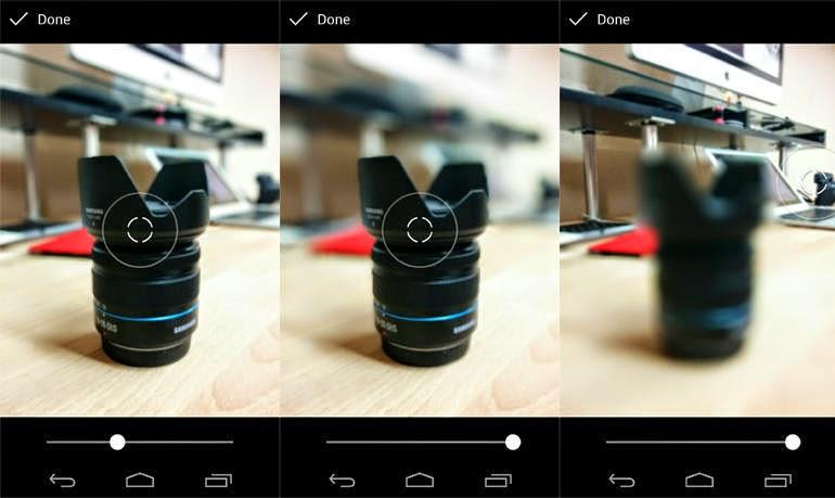 Chụp ảnh xóa phông dễ dàng trên android