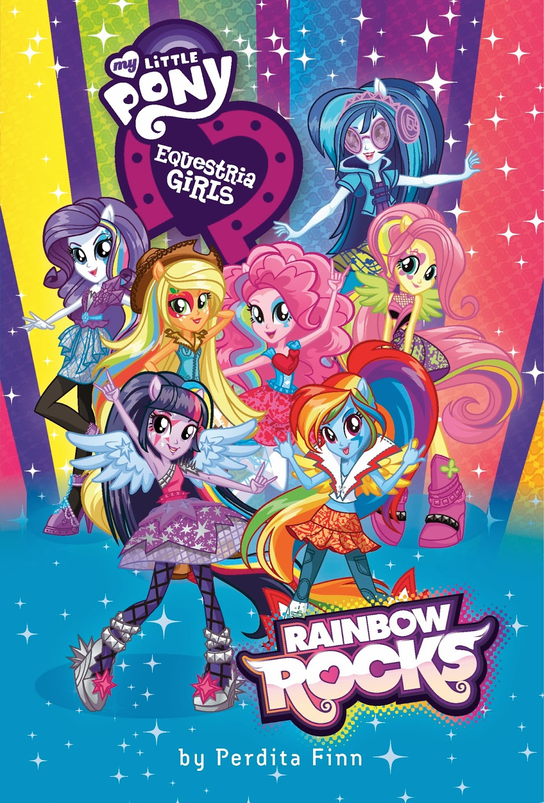 Mlp eg rainbow rocks coloring pages -  Book