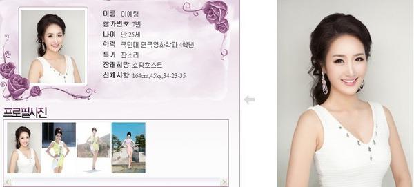 นางงามเกาหลี 2013 ศัลยกรรม หน้าเหมือนเป๊ะ - 13