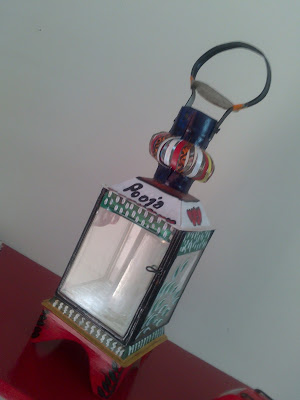 Decorated lamp