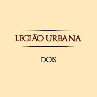 Legião Urbana Dois CD Capa
