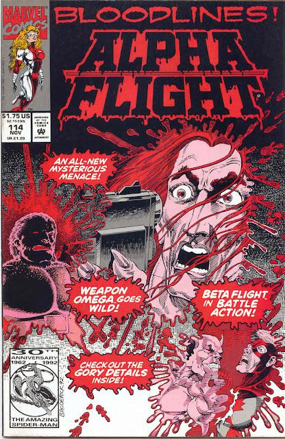 Alpha Flight 114 cover