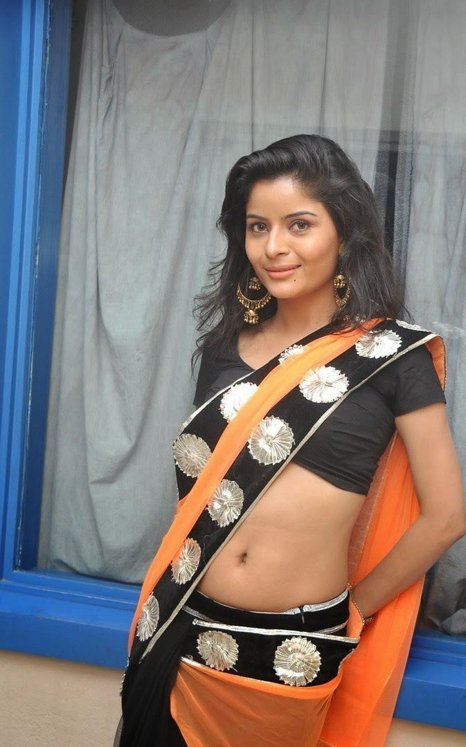 Gehana Vasisth Latest Stills In Transparent Sexy Saree